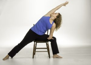 chair extended side angle pose