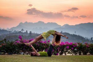 Vinyasa Yoga strength training