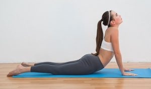 cobra pose eases lower back pain
