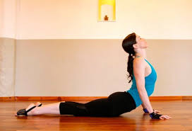 cobra pose to help with sciatica