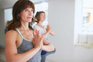 yoga helping menopause