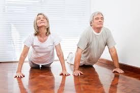 flexible yoga older