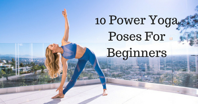 10 power yoga poses for beginners